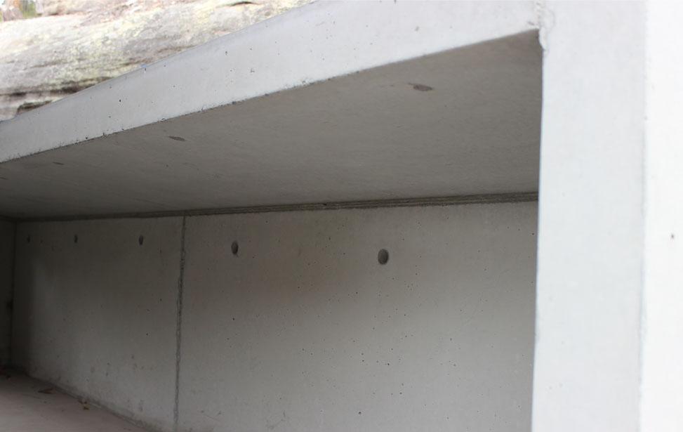 GP Concrete BBQ Bench